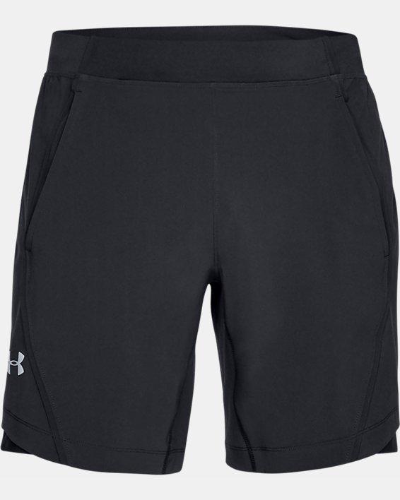 Short UA Speedpocket 20cm pour homme, Black, pdpMainDesktop image number 3