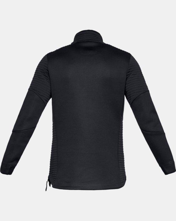 Men's UA Move ½ Zip, Black, pdpMainDesktop image number 5