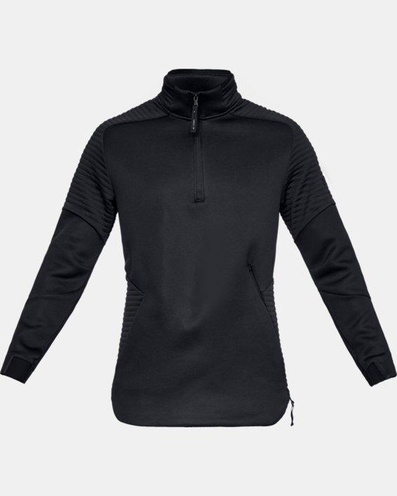 Men's UA Move ½ Zip, Black, pdpMainDesktop image number 4