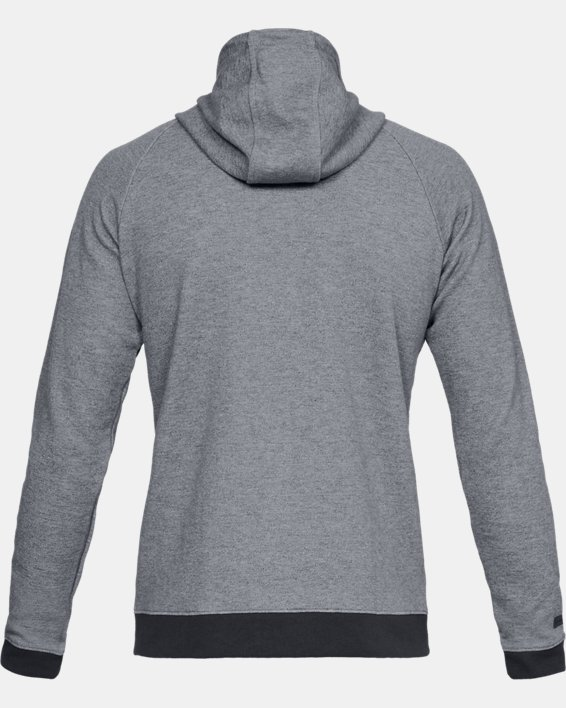 Men's UA Unstoppable Double Knit Full Zip, Gray, pdpMainDesktop image number 5