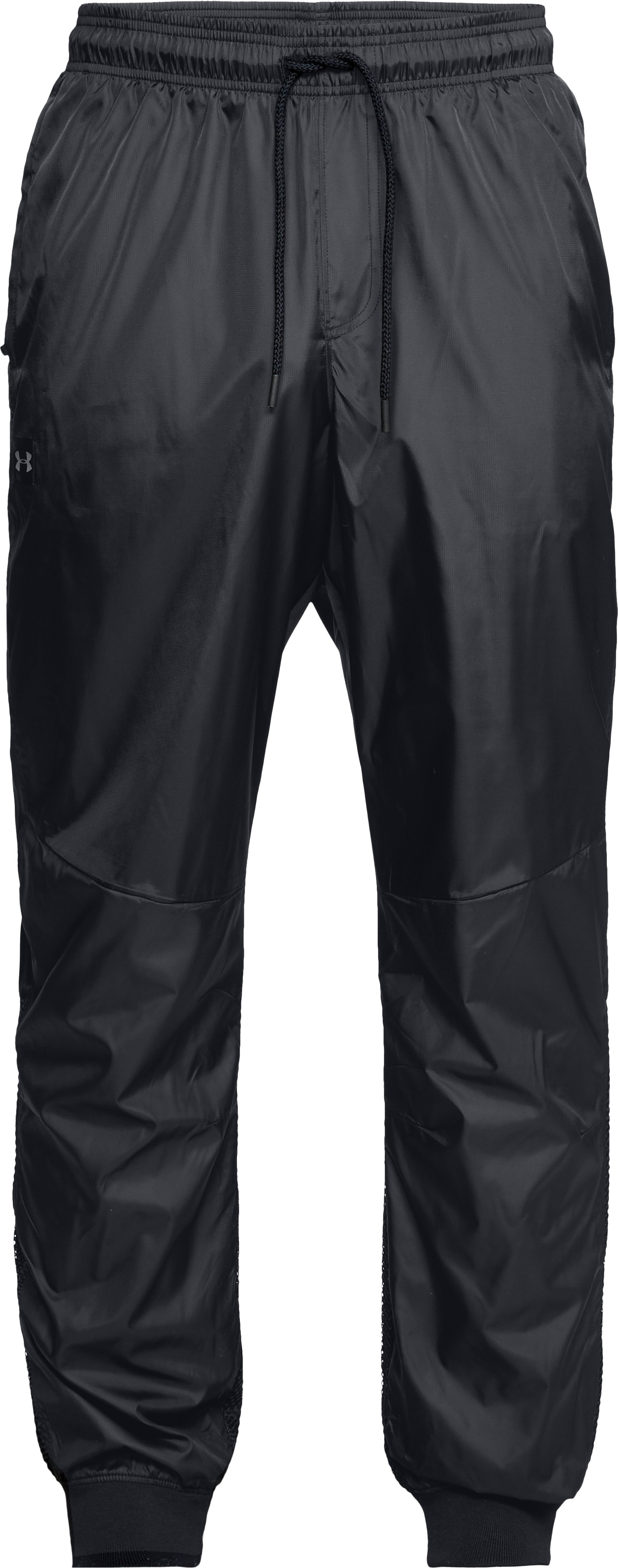 Men's UA Unstoppable Wind Pants, Black ,