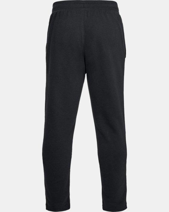 Pantalon UA Rival Fleece pour homme, Black, pdpMainDesktop image number 4