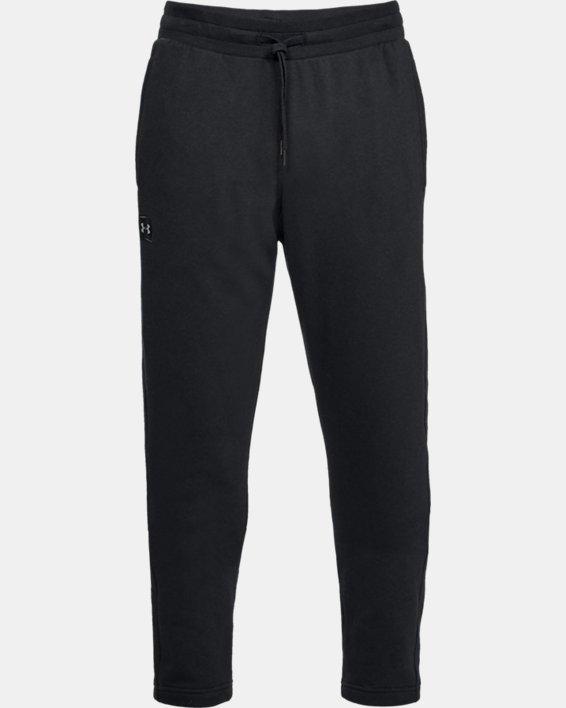 Pantalon UA Rival Fleece pour homme, Black, pdpMainDesktop image number 3