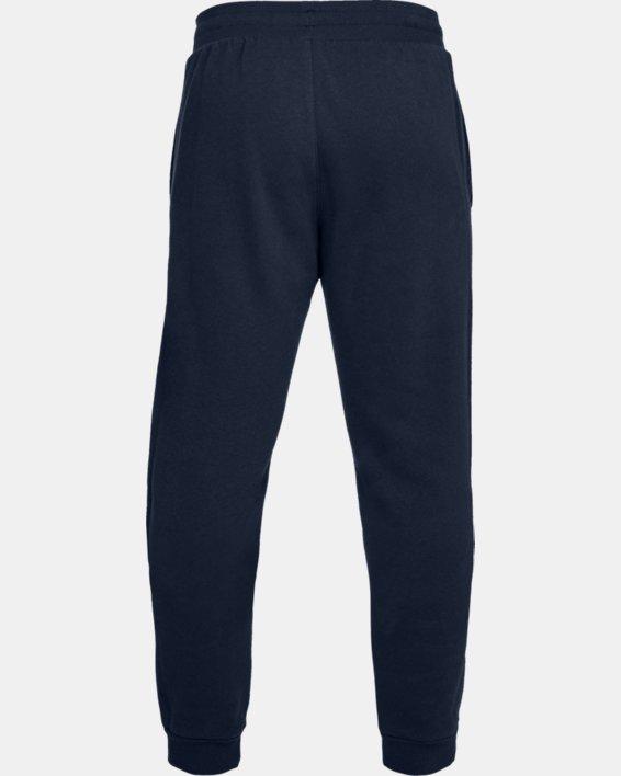 Pantalon de jogging UA Rival Fleece pour homme, Navy, pdpMainDesktop image number 4