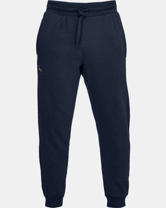 Pantalon de jogging UA Rival Fleece pour homme, Navy, pdpMainDesktop image number 3