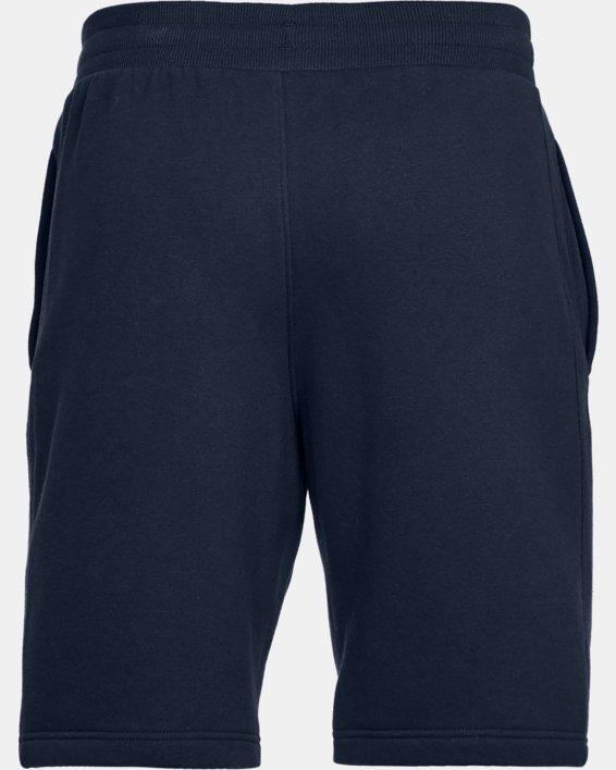 Men's UA Rival Fleece Shorts, Navy, pdpMainDesktop image number 4