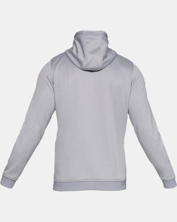 Men's Armour Fleece® Hoodie, Gray, pdpMainDesktop image number 4