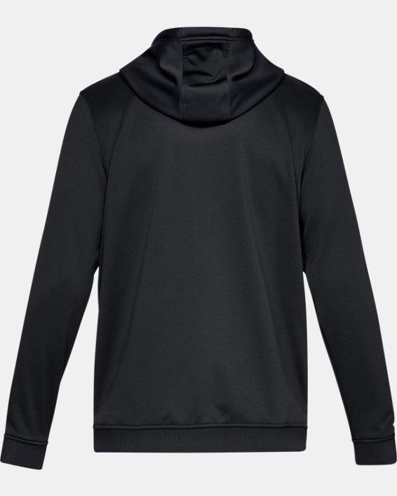 Armour Fleece® Full Zip pour homme, Black, pdpMainDesktop image number 4