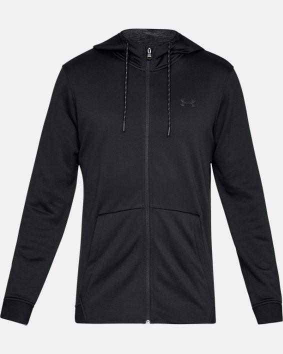 Armour Fleece® Full Zip pour homme, Black, pdpMainDesktop image number 3