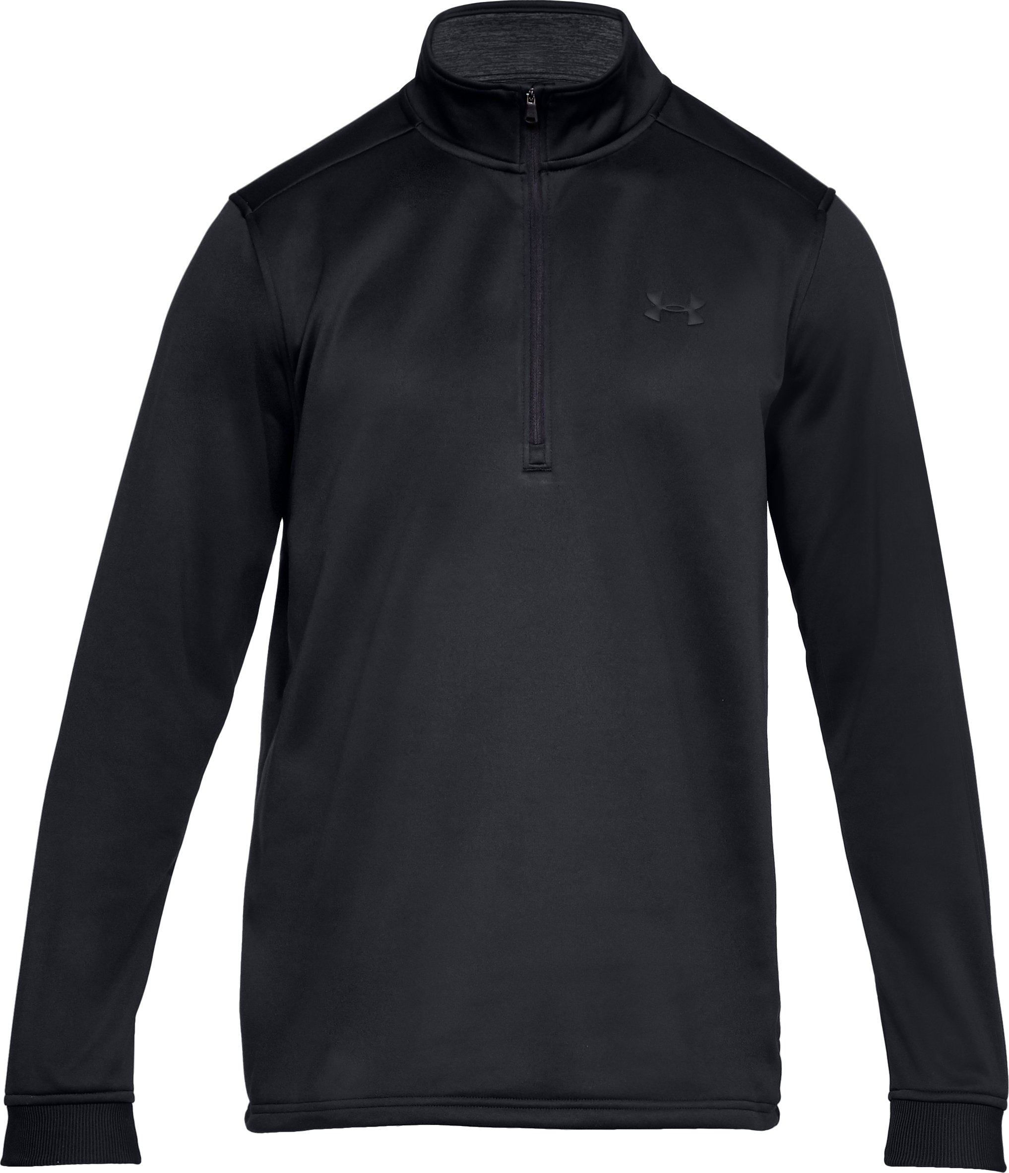 Men's Armour Fleece® ½ Zip, Black ,