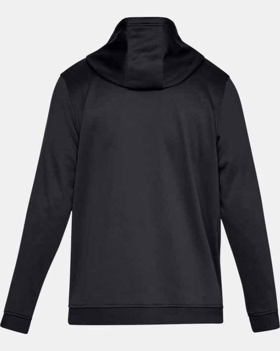 Men's Armour Fleece® Full-Zip, Black, pdpMainDesktop image number 5