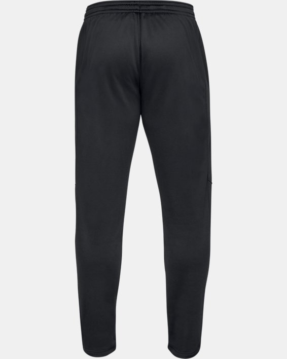 Men's Armour Fleece® Pants, Black, pdpMainDesktop image number 4