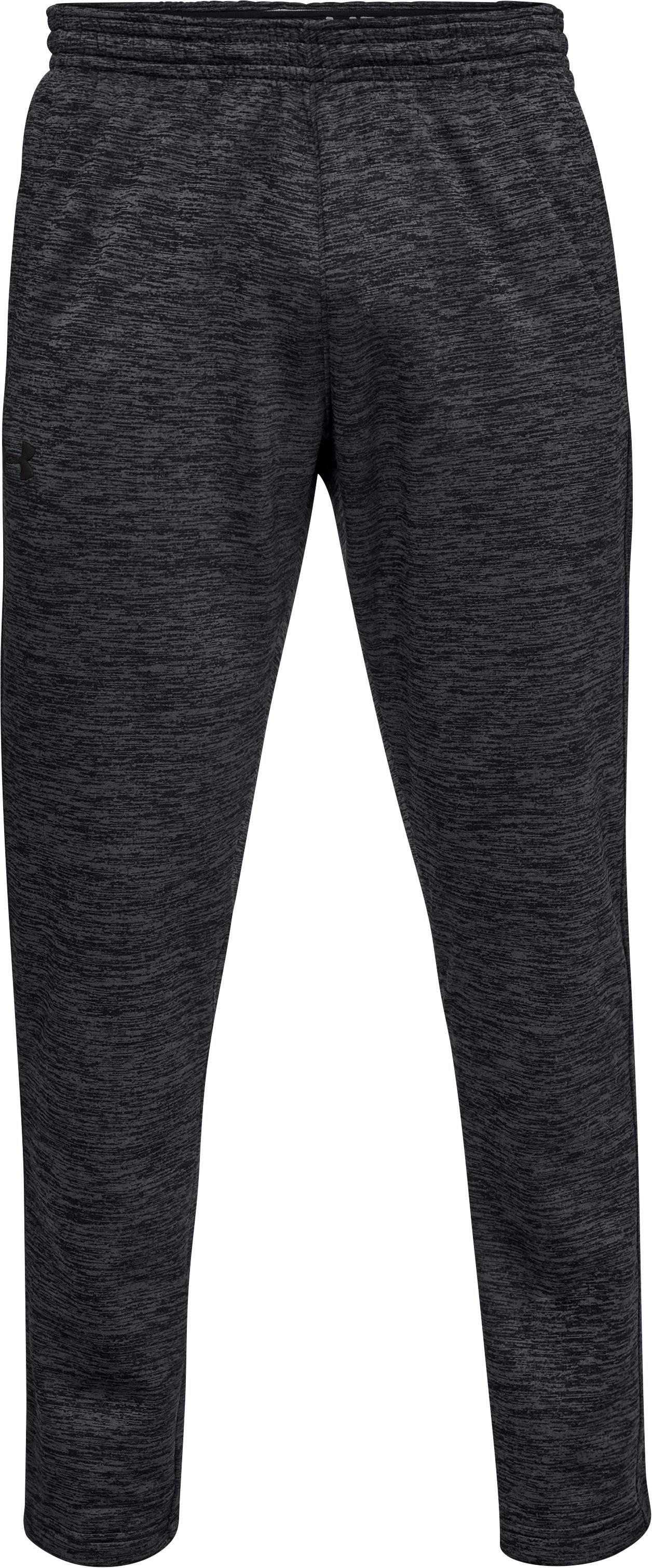 Men's Armour Fleece® Twist Pants, Black ,
