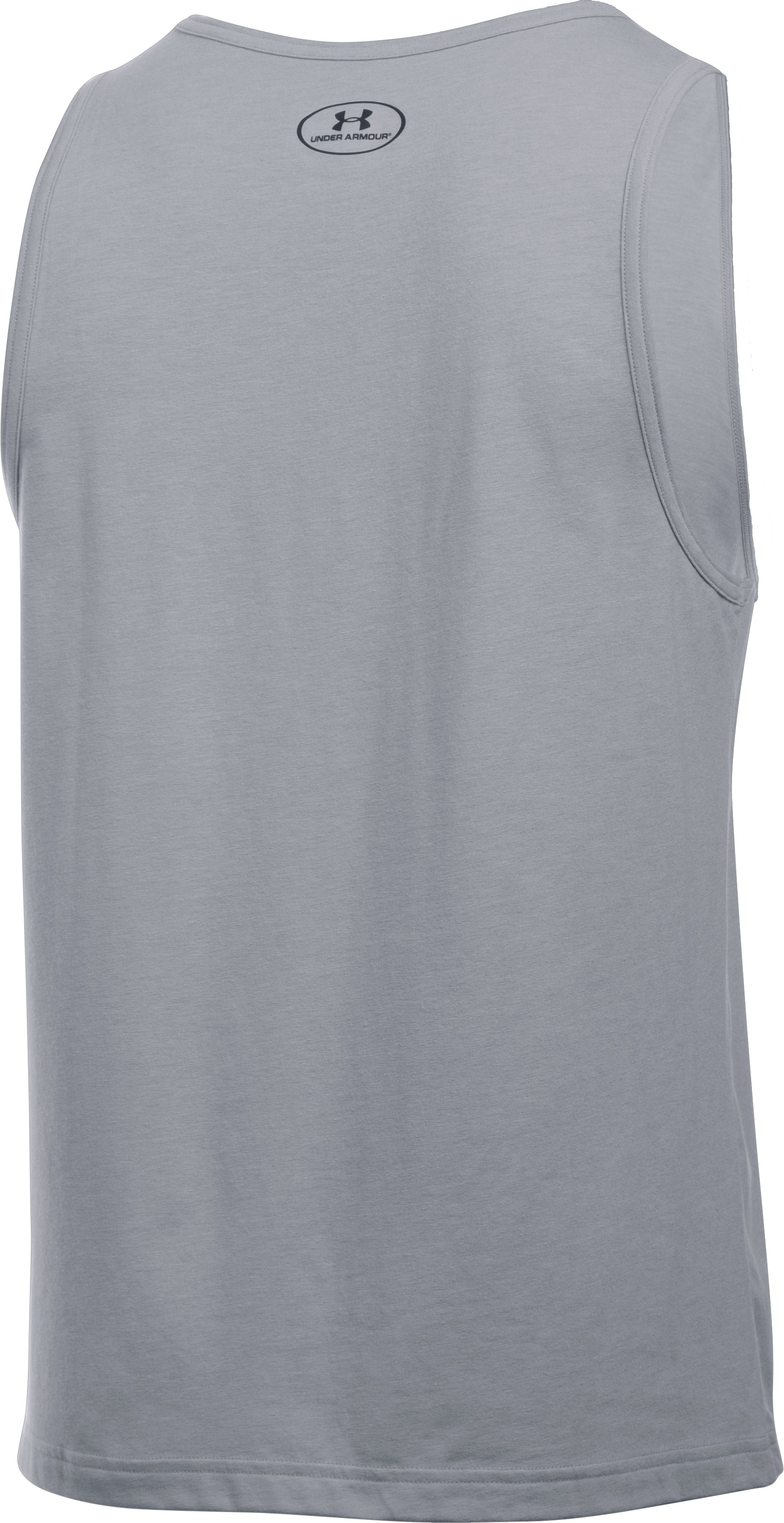 Men's UA Americana Tank, STEEL LIGHT HEATHER, undefined