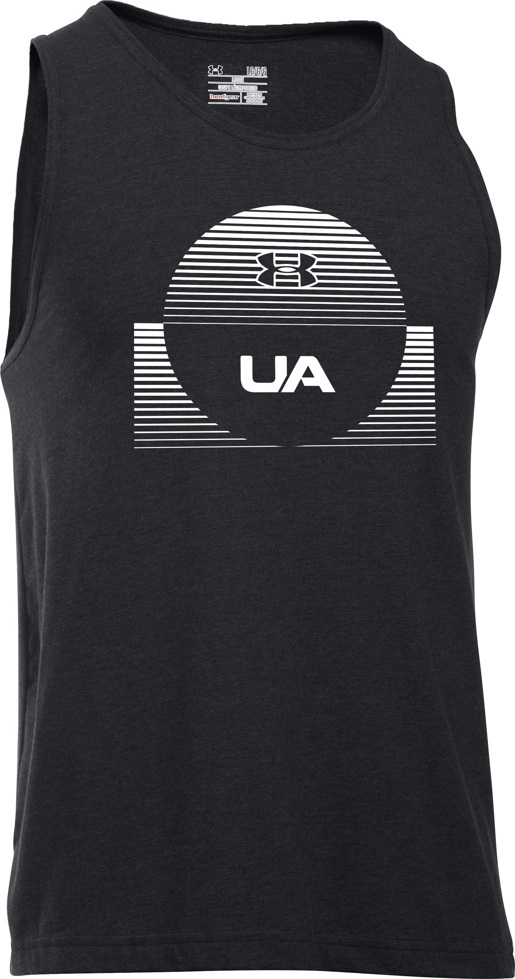 Men's UA Beach Tank, Black , undefined