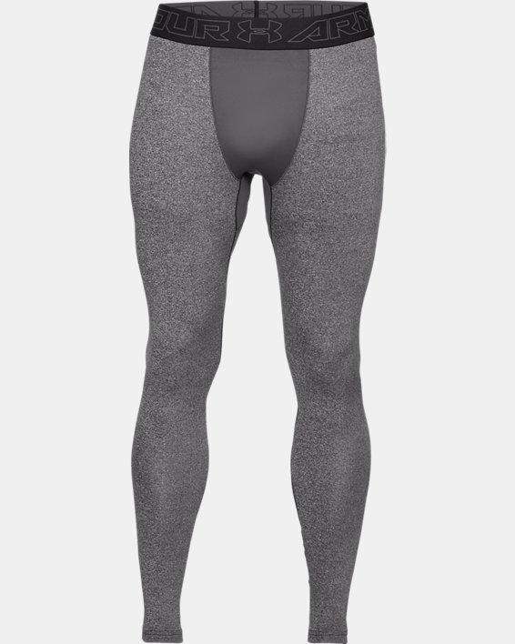Men's ColdGear® Leggings, Gray, pdpMainDesktop image number 4