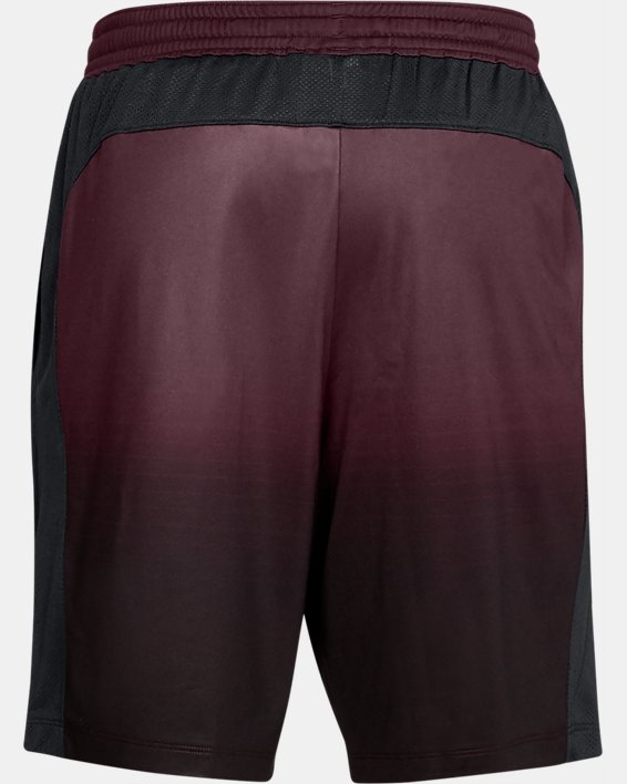 Men's UA MK-1 Fade Shorts, Red, pdpMainDesktop image number 5