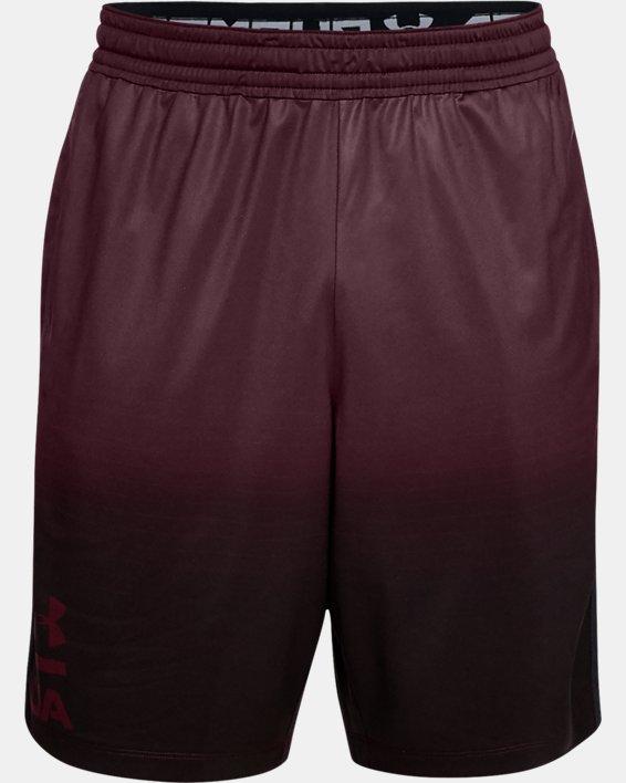 Men's UA MK-1 Fade Shorts, Red, pdpMainDesktop image number 4