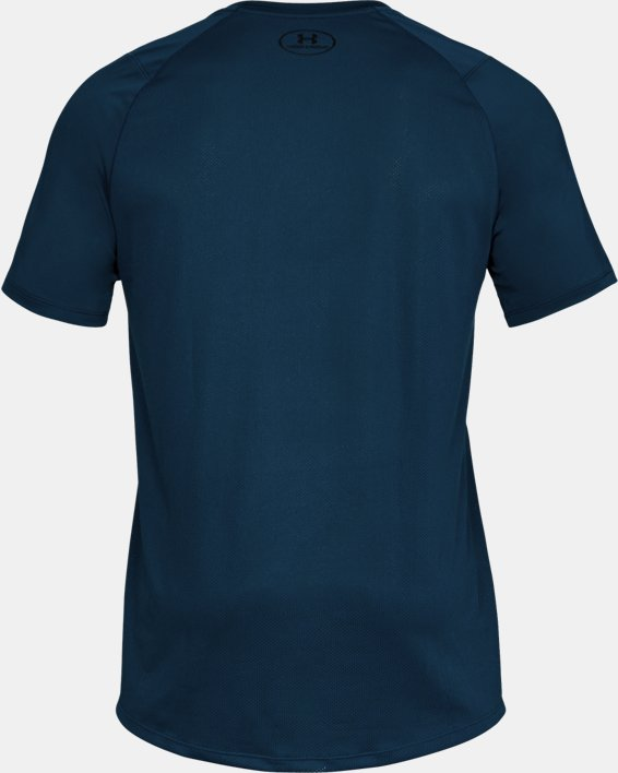 Men's UA MK-1 Logo Graphic Short Sleeve, Blue, pdpMainDesktop image number 5