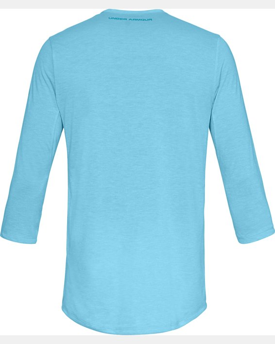 Men's UA Microthread Utility T-Shirt, Blue, pdpMainDesktop image number 5