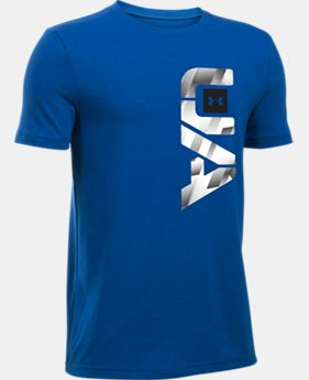 Boys' UA Alpha Re-Entry T-Shirt  1 Color $19.99