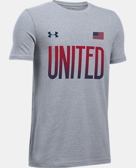 Boys' UA United T-Shirt  1 Color $14.99