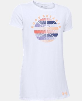 Girls' UA Hoop Breaker T-Shirt  1 Color $11.24