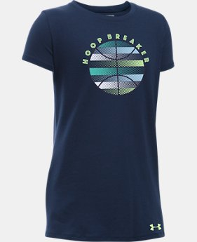 Girls' UA Hoop Breaker T-Shirt  1 Color $14.99
