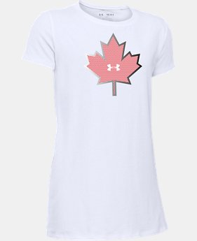 Girls' UA Canada Package T-Shirt  1 Color $22.99