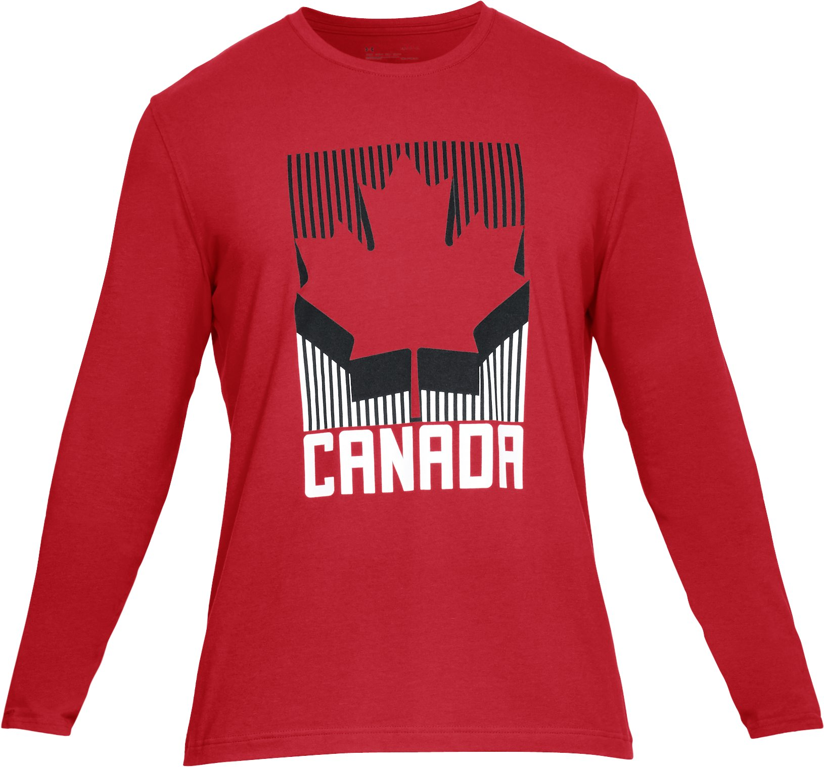 Men's UA Team Canada Performance Long Sleeve T-Shirt, Red, undefined