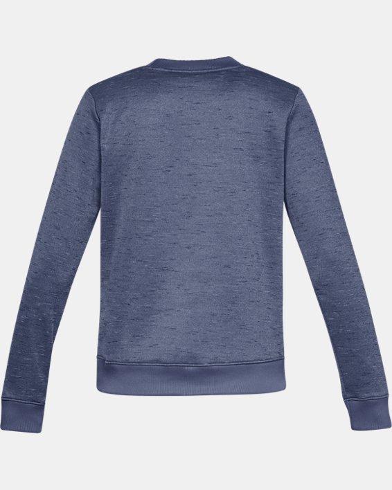 Haut à col ras du cou Armour Fleece® pour femme, Blue, pdpMainDesktop image number 4