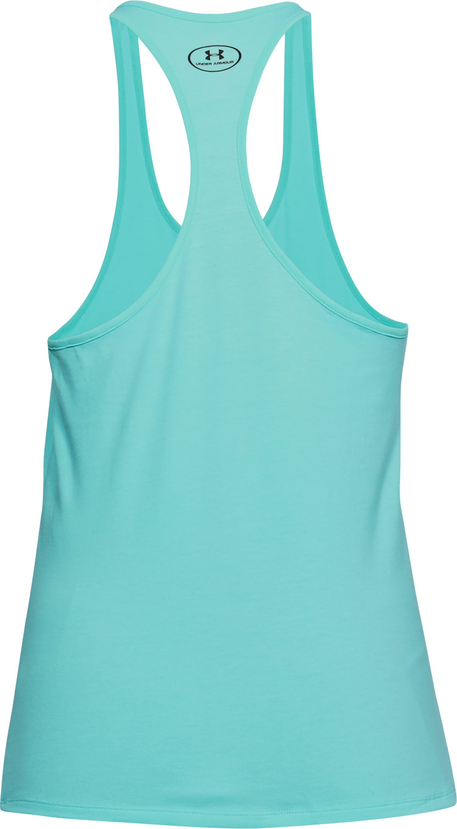 Women's UA Neon Tuna Tank, TROPICAL TIDE, undefined