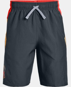 New Arrival Boys' UA Evolve Woven Shorts  3 Colors $30