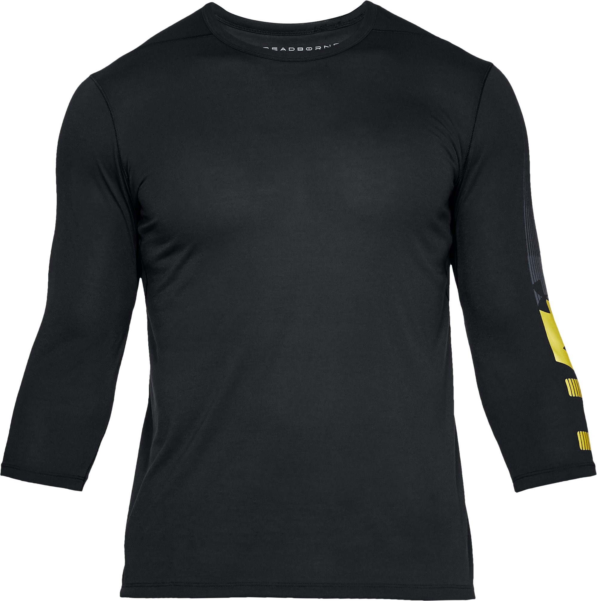 Men's UA Podium ¾ Utility T, Black , undefined