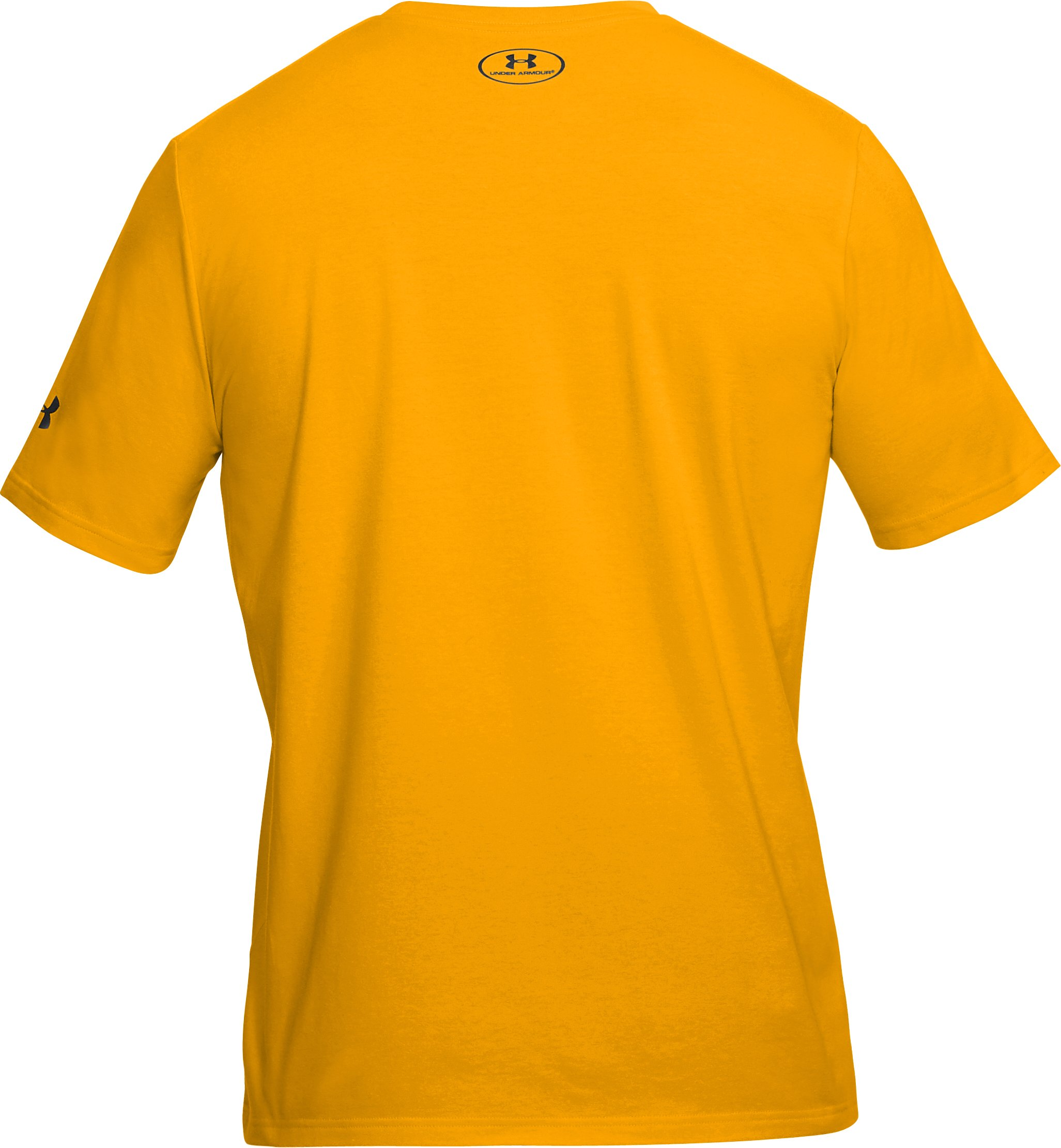 Men's UA x Project Rock T-Shirt, Steeltown Gold,