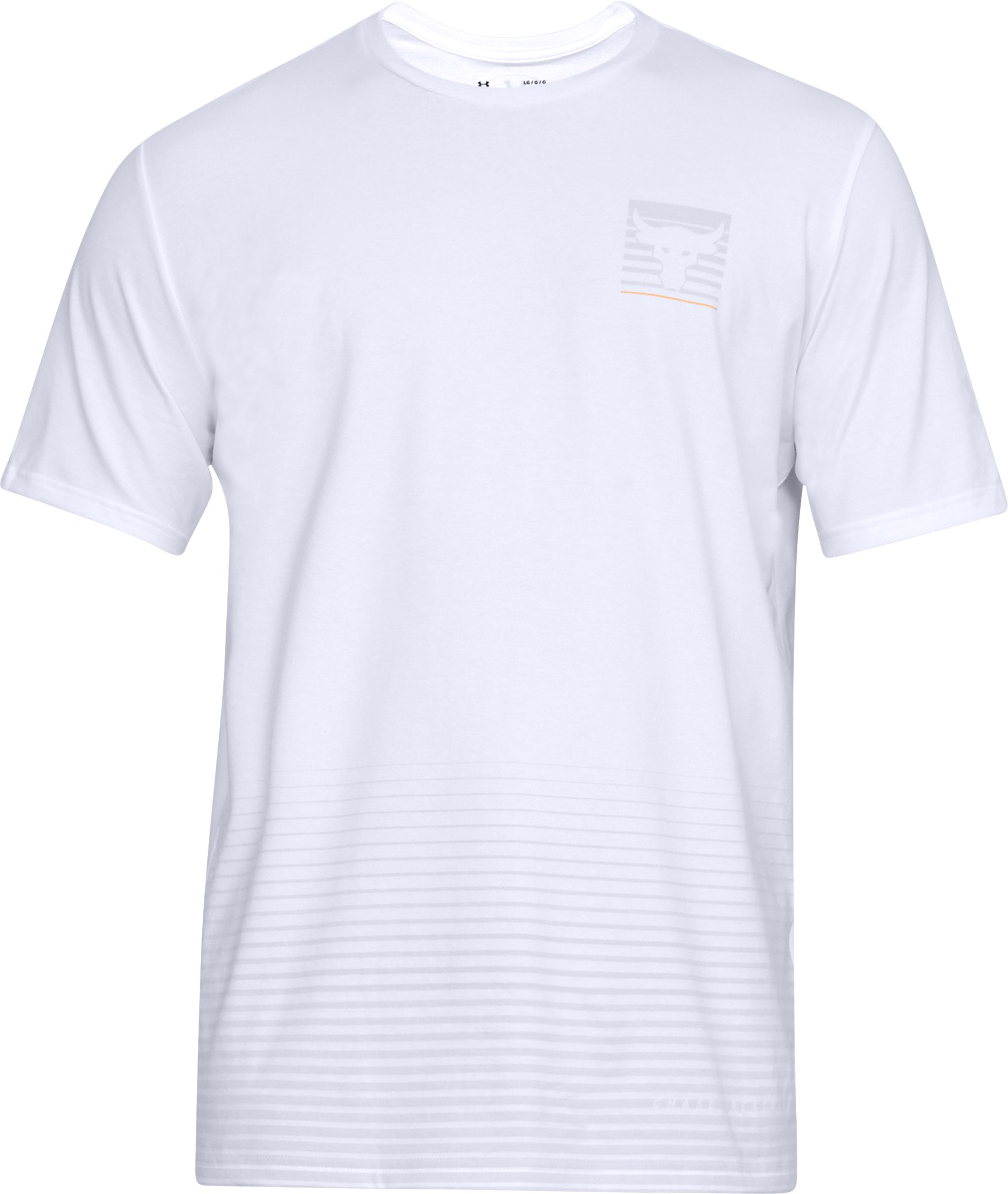 Men's UA x Project Rock T-Shirt, White,