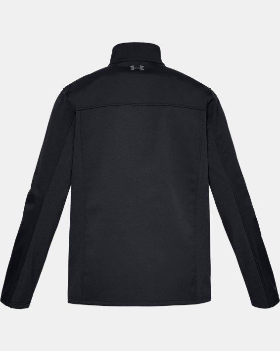 Men's ColdGear® Infrared Shield Jacket, Black, pdpMainDesktop image number 4