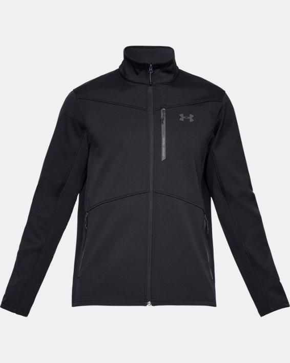 Men's ColdGear® Infrared Shield Jacket, Black, pdpMainDesktop image number 3