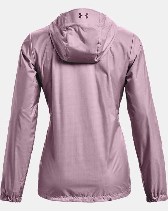 Veste UA Forefront Rain pour femme, Pink, pdpMainDesktop image number 4