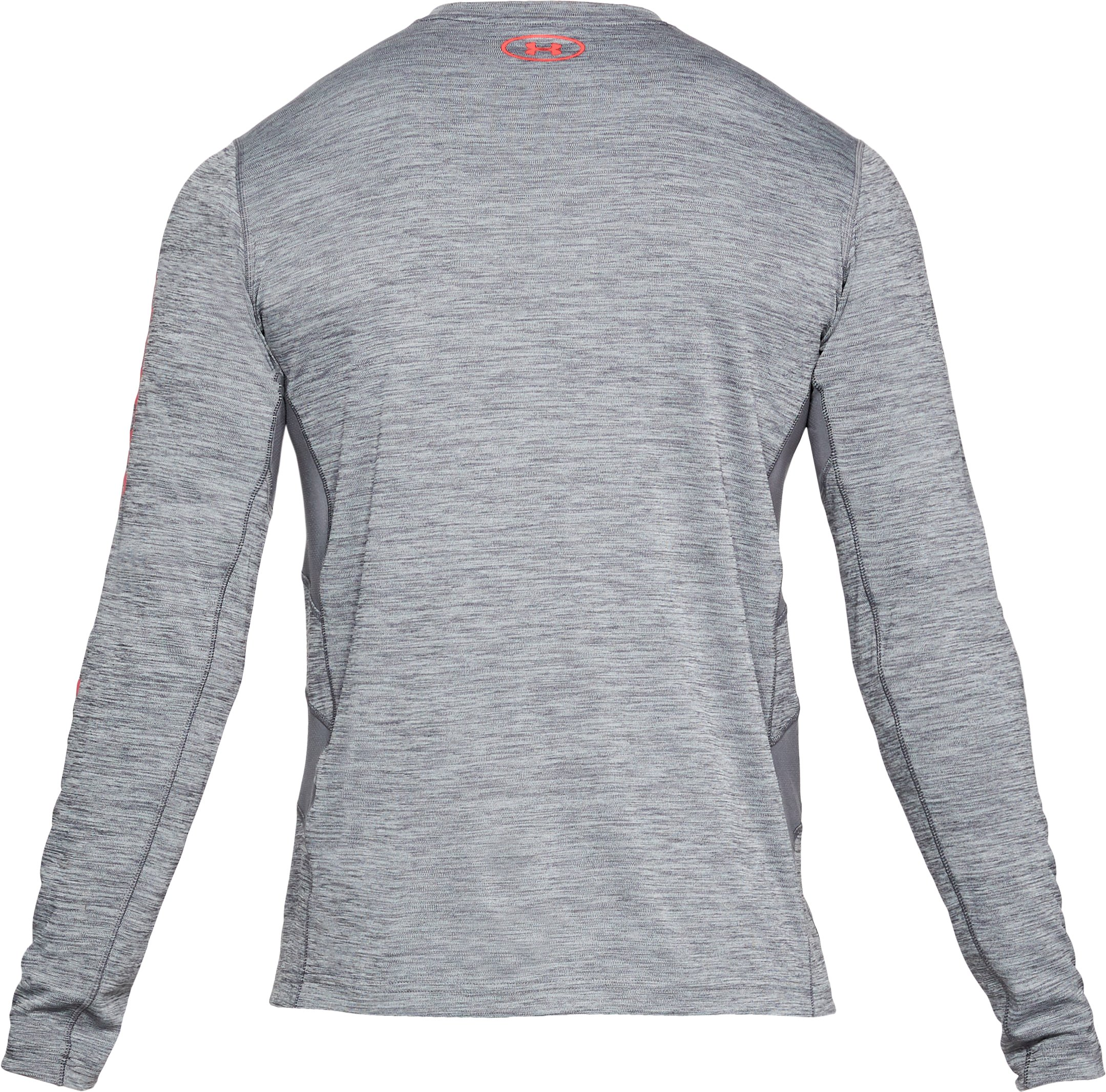 Men's UA Fish Hunter Icon Long Sleeve, GRAPHITE LIGHT HEATHER, undefined