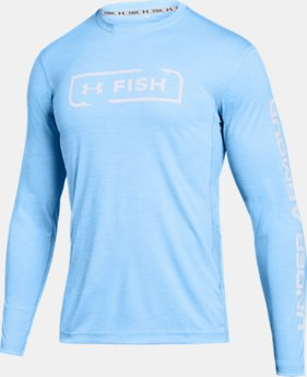 New Arrival  Men's UA Fish Hunter Icon Long Sleeve  1  Color Available $45