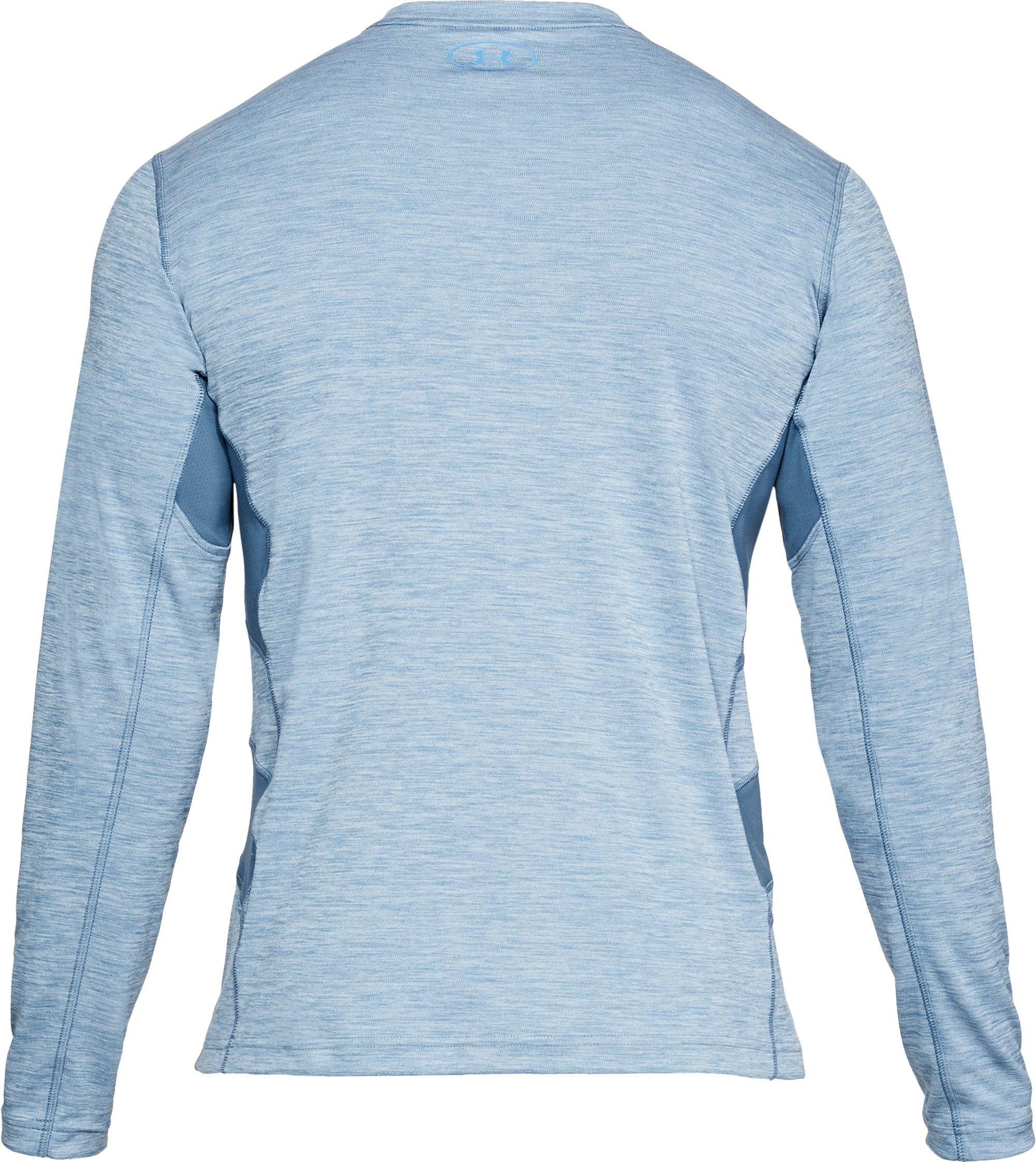 Men's UA Fish Hunter Icon Long Sleeve, BASS BLUE LIGHT HEATHER,