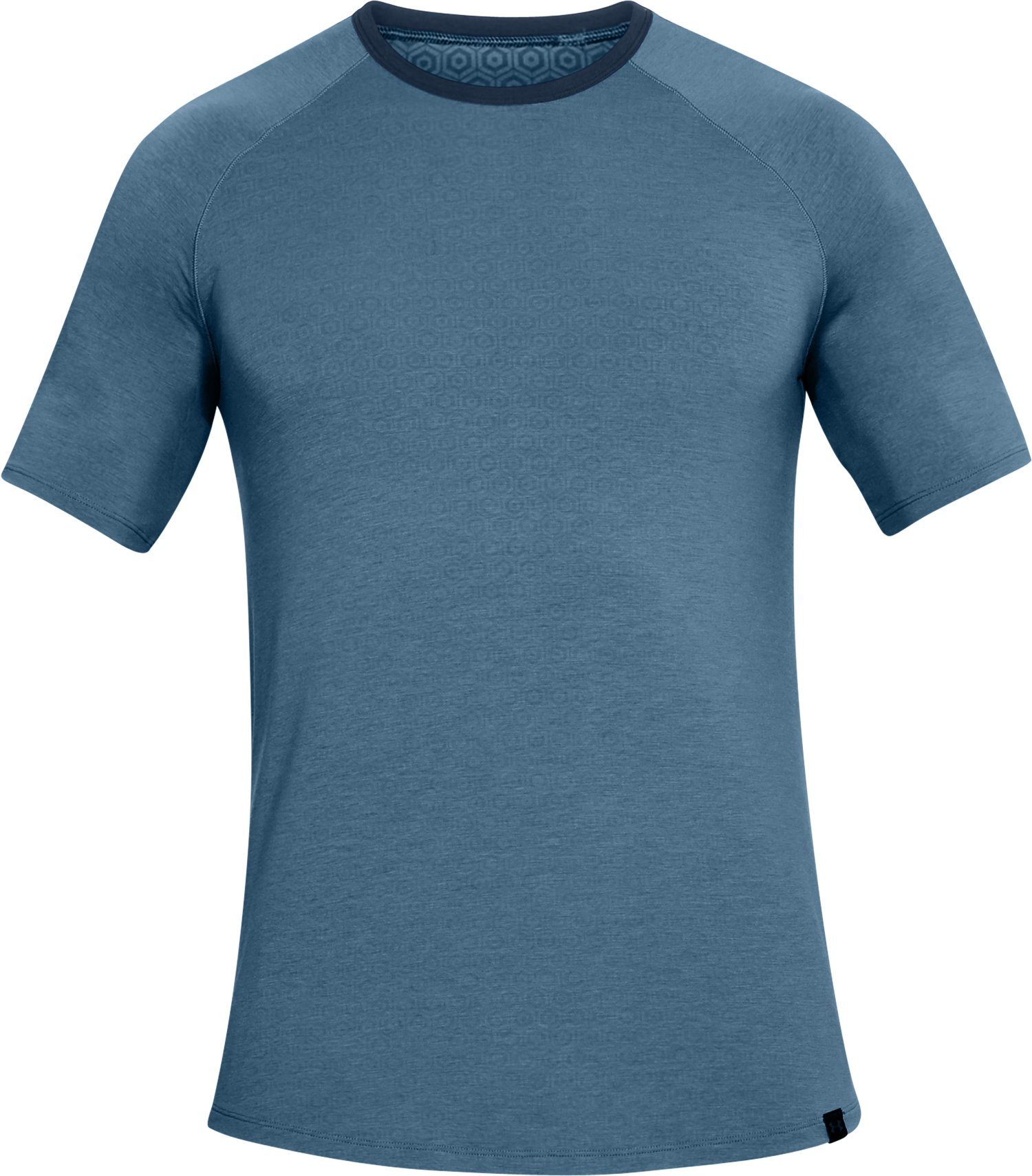 Men's Athlete Recovery Sleepwear Crew, BASS BLUE,