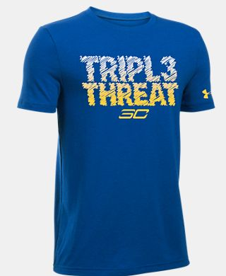 Boys SC30 Tripl3 Threat T-Shirt