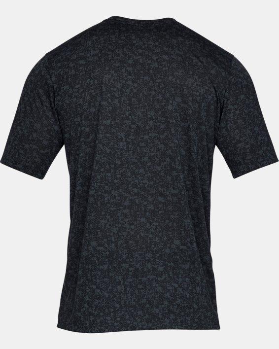 Men's UA Siro Print Short Sleeve, Black, pdpMainDesktop image number 4