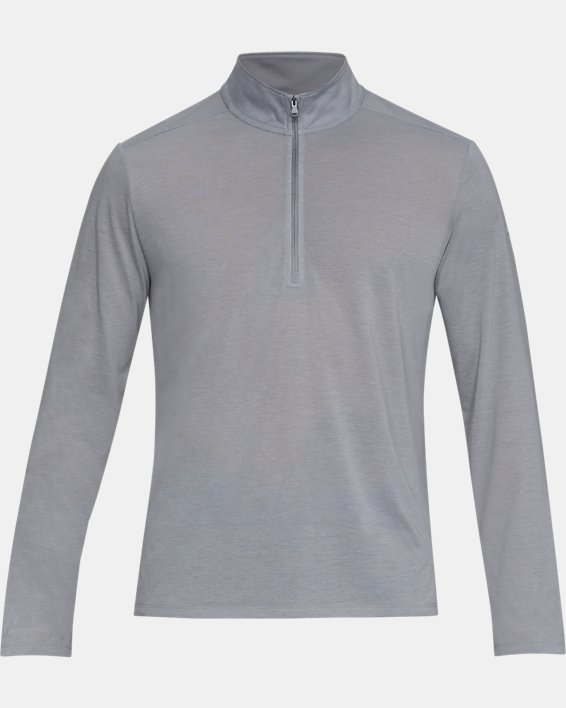 Men's UA Siro ½ Zip, Gray, pdpMainDesktop image number 4