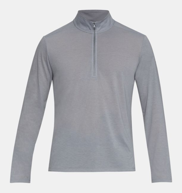 Men's UA Siro ½ Zip, Steel Full Heather, , Steel Full Heather, Click to view full size