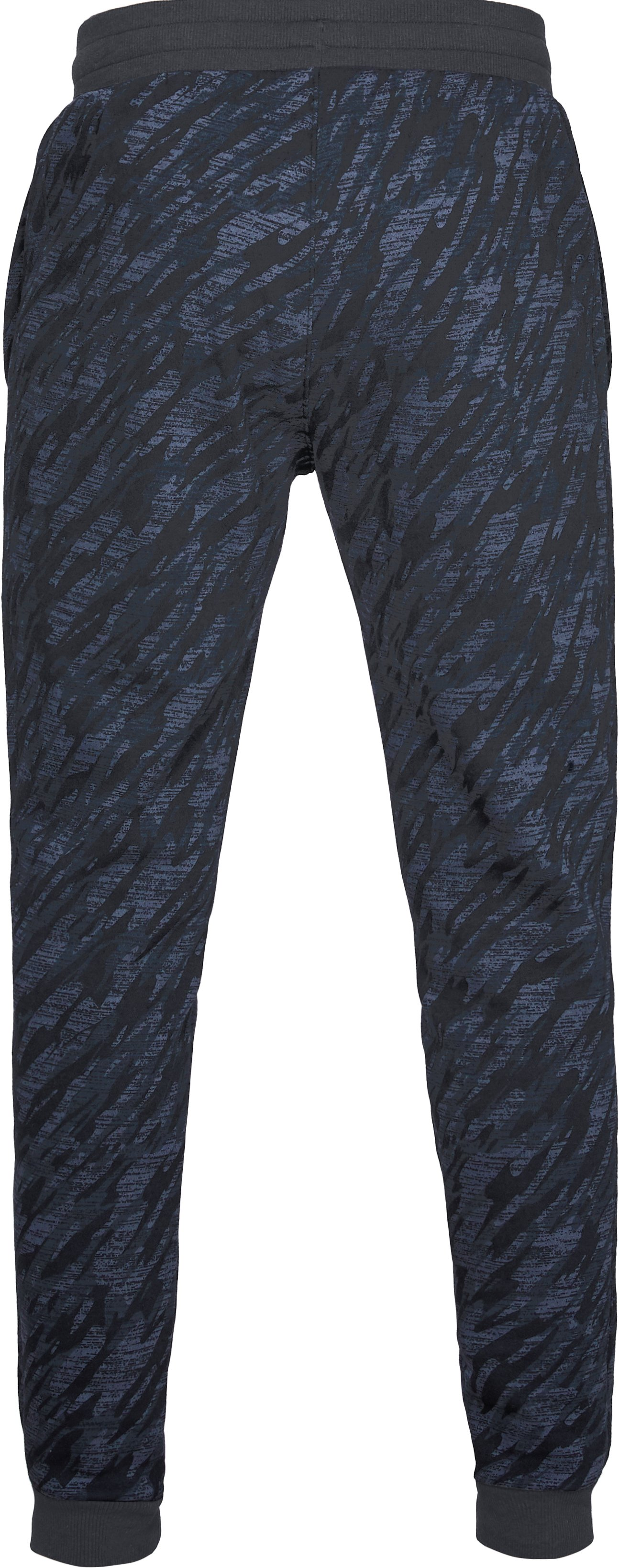 Men's UA Rival Fleece Camo Joggers, Black ,