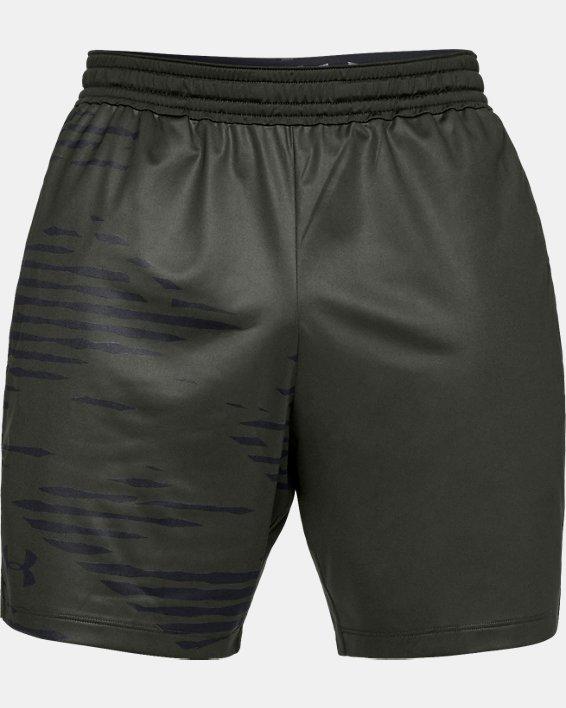Men's UA MK-1 Camo Print Shorts, Green, pdpMainDesktop image number 3