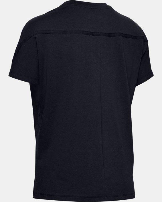 Women's UA Lighter Longer Graphic T-Shirt, Black, pdpMainDesktop image number 5